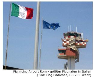 Flughafen Rom Fiumicino Leonardo Da Vinci Fco Stand