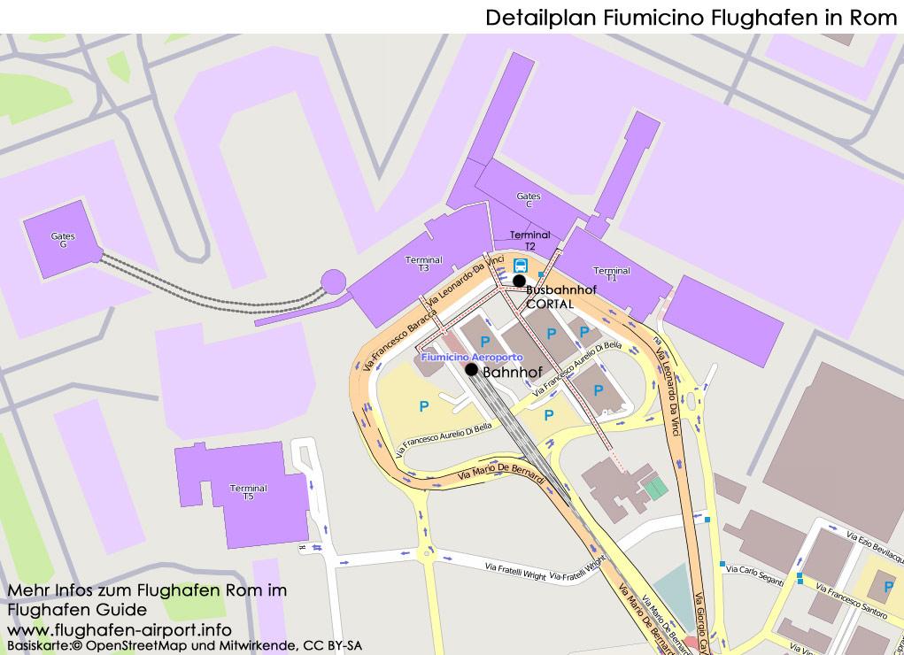 Rhodos Karte Flughafen.Flughafen Rom Fiumicino Leonardo Da Vinci Fco Stand 2018