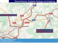 Gran Canaria Karte Flughafen.Flughafen Santiago De Compostela Scq Infos Bus Ins Zentrum